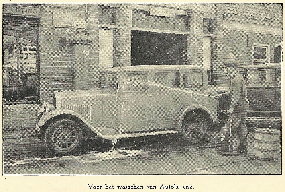 Saval en auto s de auto van m n opa for Garage ford saval valence