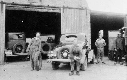 Van Dongen's Autobedrijf, Zeeland c. 1935.