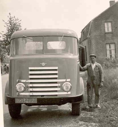 DAF vrachtwagen, c. 1950 (coll. Jack Werners)