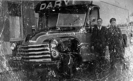 Chevrolet vrachtwagen (Collectie Oudedaf.nl)