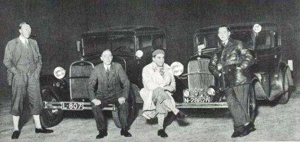 Ford (Bron: Sport in Beeld 8 november 1932)