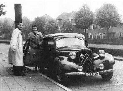 Citroën Traction Avant model 1939, c. 1950.