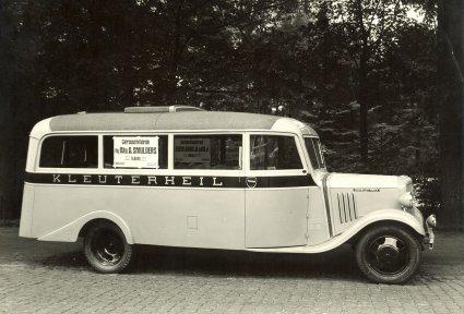 Chevrolet autobus (Collectie familie Smulders / Krelis Swaans)