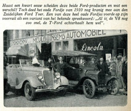 Ford (Bron: Ford Wereld, 1934)