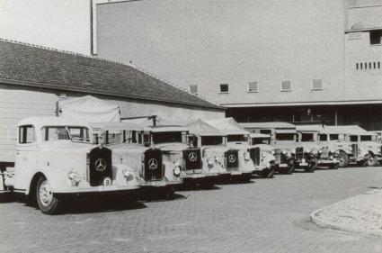 Mercedes vrachtwagen, 1938.