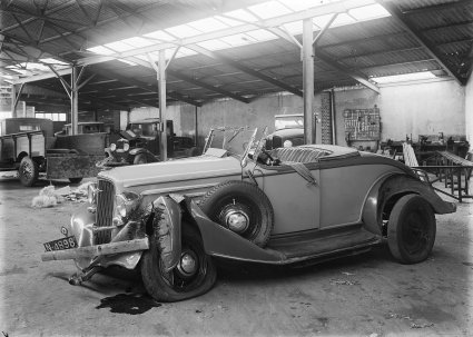 Chevrolet, jaren '30 (collectie West-Brabants Archief)