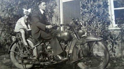 N-5159 Harley Davidson 1927 (collectie P. Schellekens)