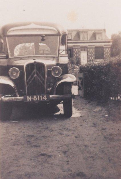 Citroën autobus, c. 1925.