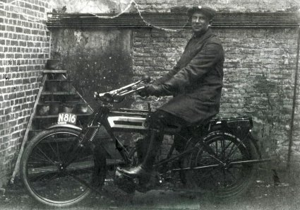Saroléa Single Drive, gebouwd rond 1912.