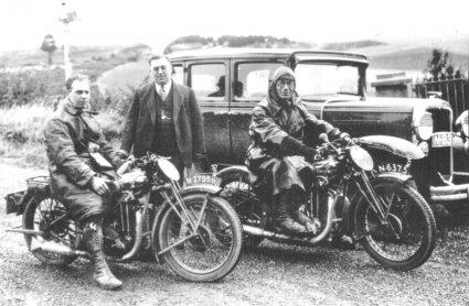 British Excelsior motoren.