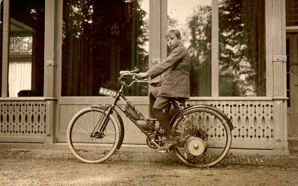 Opel Motorfahrrad, 1923 (Collectie Rees Diepen, Brabant-Collectie, Tilburg University)