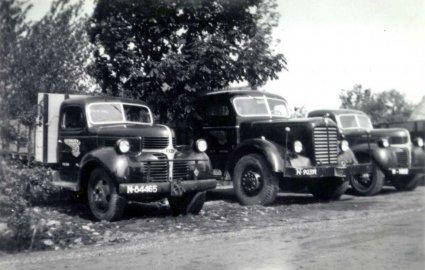 Mack en Desoto (Collectie S. Verhagen)