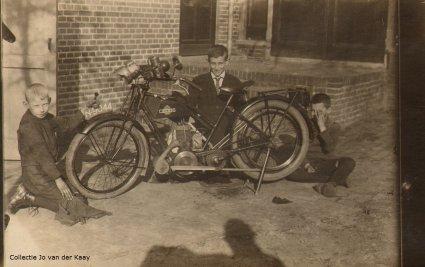 CEDOS motorfiets, jaren '30.