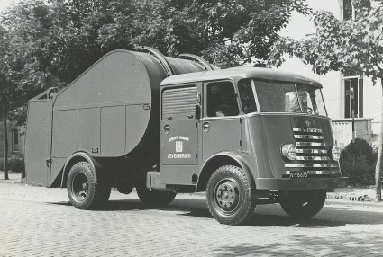 DAF vuilniswagen, 1951.