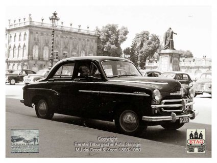 N-302 Vauxhall Velox, 1950 (Foto Ad de Groot; collectie ETAG)
