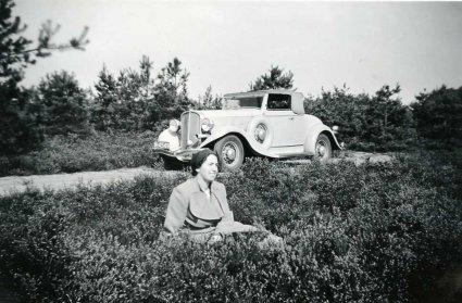 Pontiac, model 1932 (bron: Collectie Heemkundekring Weerderheem)