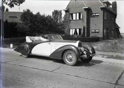 Bugatti (foto: Schmidlin. Bron: Regionaal Archief Tilburg)