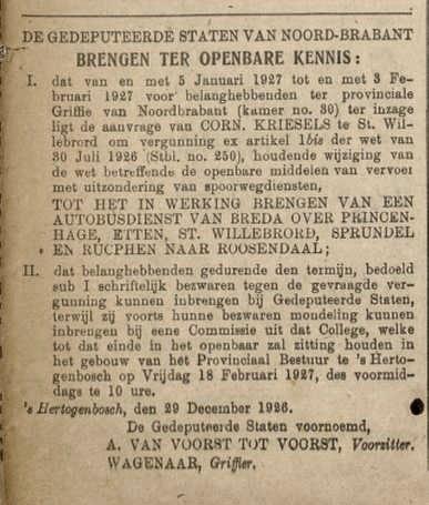 De Grondwet, 31 dec. 1926