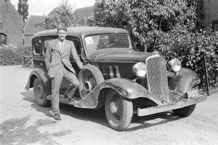 Chevrolet (foto: D. Scholte. Bron: Stadsarchief Oss)