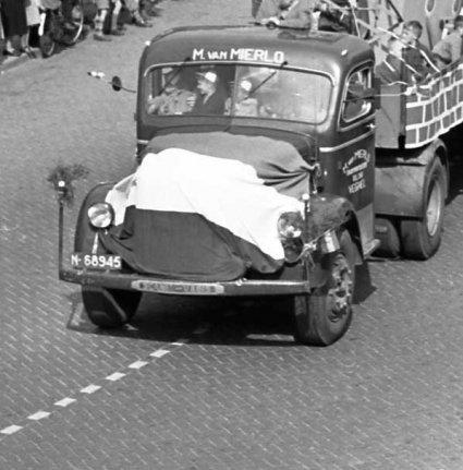 Scania Vabis (Foto: Harry van Liempd. Bron: BHIC)