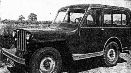 Willys jeep (bron: tijdschrift EVO, juni 1948)