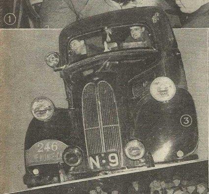 Ford Anglia (bron: De Auto, 1950)