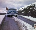 N-203 Buick op de St. Gotthardpas, 1946 (particuliere collectie)