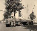 International vrachtwagen van de firma Schraven-Eijsbouts, 1947 (Collectie M. Leyten-Schraven)