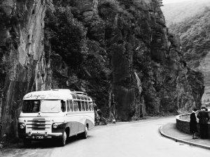 Autobus uit Zeeland, 1950.