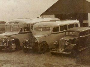 Autobus, Wouw eind jaren '40.