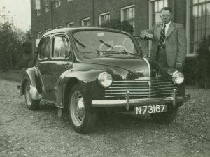 Renault 4, c. 1950.