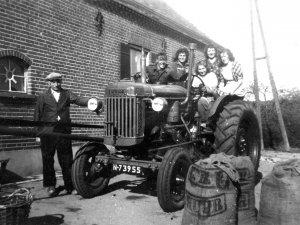 Fordson tractor (bron: De Grote Weg)
