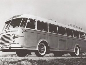 DAF-bus, c. 1950 (collectie Eindhoven in Beeld)