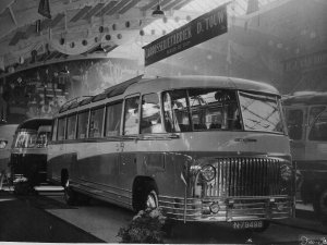 N-79498 Scania touringcar, c. 1950.