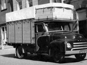 Opel Blitz, 1955 (collectie G. den Dekker)