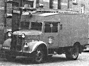 Austin brandweerwagen  (Historische collectie brandweer Eindhoven)