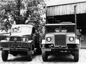 GMC en Ford (collectie St. BouwmachinesvanToen)