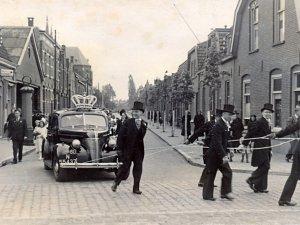 Boxtel mei 1941 op de hoek Nieuwe Kerkstraat (nu Baroniestraat-Breukelsestraat).