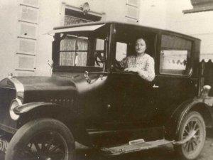 Tante Jans in haar tweede huisje