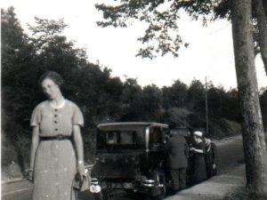 op weg naar Namen, 1935 (Collectie R. en M. van Gestel-Gielisse)
