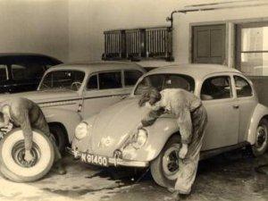 Chrysler, Opel en Volkswagen (collectie P. Roosenboom)