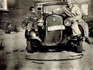Chevrolet bj. 1932, 1950 (collectie A. Aarts)