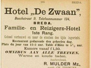 Bron: Adresboek Breda 1905