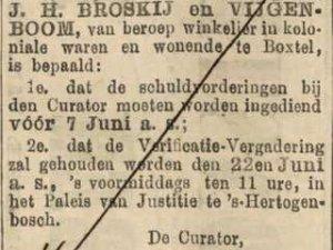 Bron: Prov. Noordbr. en 's-Hertogenbossche Crt., 24 mei 1907