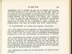 Bron: Raadsnotulen 1948