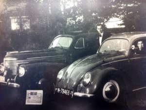 N-79468 Volkswagen Kever (bron: website Taxi Gotax)