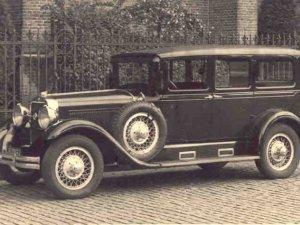 Studebaker President 1928 (collectie B. Otten)