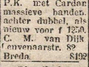 Bron: Dagblad voor Noord-Brabant