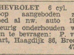 Bron: Dagblad van Noord-Brabant, 27 aug. 1932