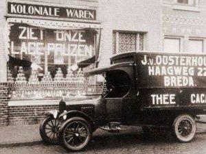 De auto van J. van Oosterhout